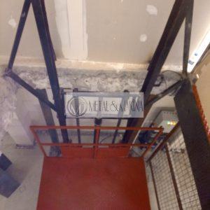 hidrolik yük asansörü