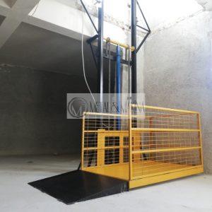 hidrolik yük platformu, platform