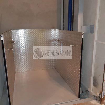 hidrolik engelli platformu
